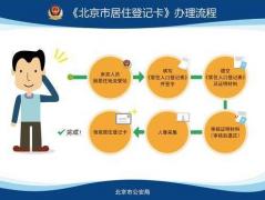 最全的北京市居住登记卡办理指南